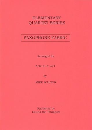SAXOPHONE FABRIC (score & parts)