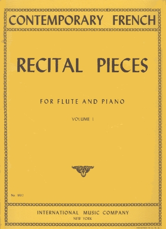 CONTEMPORARY FRENCH RECITAL PIECES Volume 1