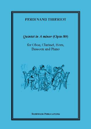 QUINTET in A minor Op.80 (score & parts)