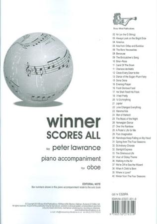 WINNER SCORES ALL Piano Accompaniment
