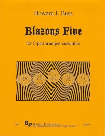 BLAZONS FIVE (score & parts)