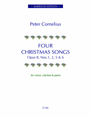 FOUR CHRISTMAS SONGS Op.8