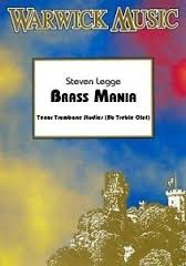 BRASS MANIA + CD treble clef