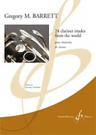 24 CLARINET ETUDES FROM THE WORLD