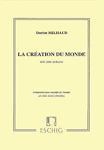 LA CREATION DU MONDE Op.81b: Suite (score)