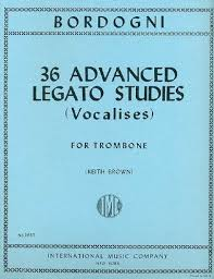 36 ADVANCED LEGATO STUDIES (Vocalises)