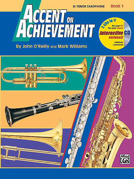 ACCENT ON ACHIEVEMENT Book 1 tenor