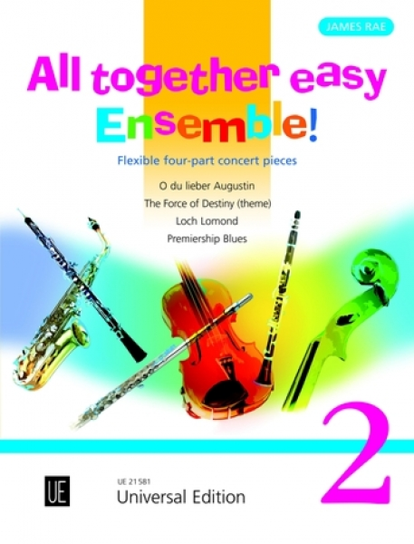 ALL TOGETHER EASY ENSEMBLE Volume 2