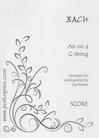 AIR ON A G STRING (score & parts)