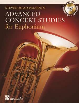 ADVANCED CONCERT STUDIES + CD (bass clef)