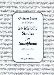 24 MELODIC STUDIES FOR SAXOPHONE