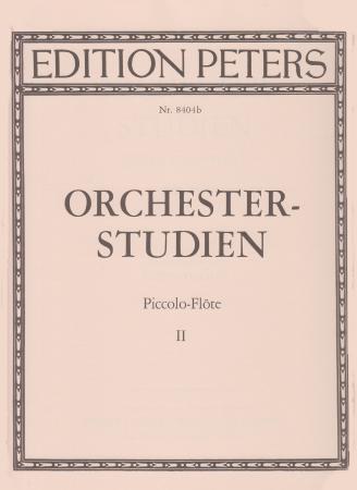 ORCHESTRAL STUDIES FOR PICCOLO Volume 2