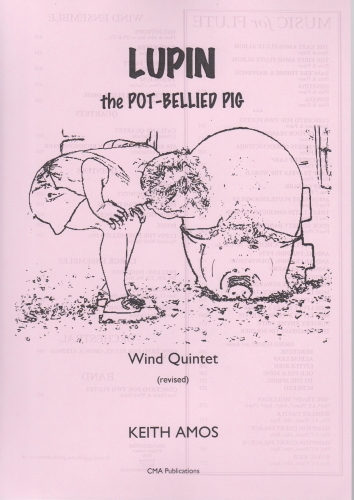 LUPIN THE POT-BELLIED PIG with Narrator (score & parts)