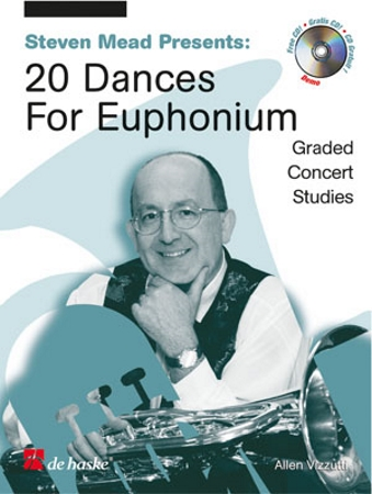 20 DANCES for Euphonium + CD (treble clef)