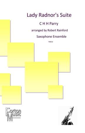 LADY RADNOR'S SUITE (score & parts)