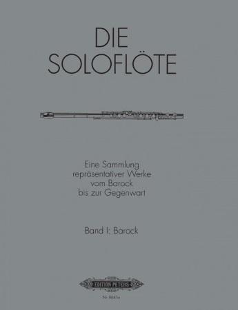 BAROQUE PIECES FOR SOLO FLUTE Volume 1