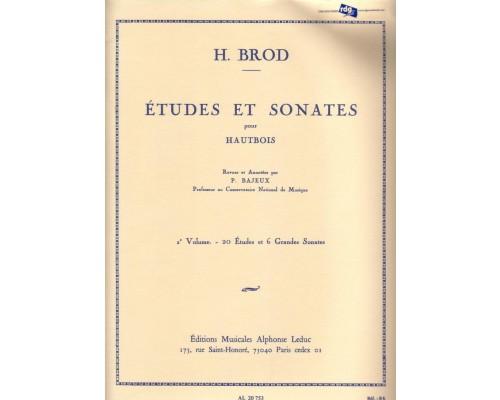 ETUDES ET SONATES Volume 2