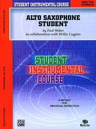 ALTO SAXOPHONE STUDENT Level 2