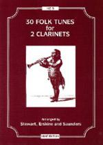 30 FOLK TUNES for 2 Clarinets