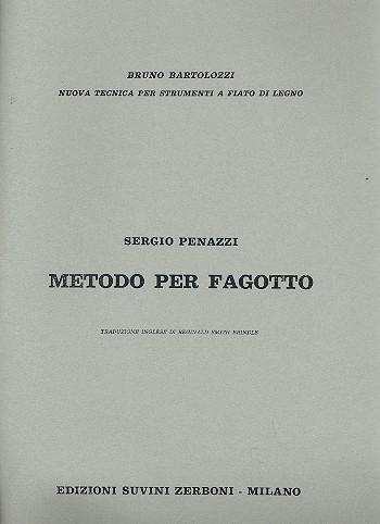 METODO PER FAGOTTO