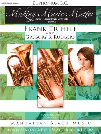 MAKING MUSIC MATTER Book 1 Euphonium (bass clef)