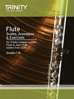 FLUTE & JAZZ FLUTE SCALES, ARPEGGIOS & EXERCISES Grades 1-8 (2015 Edition)