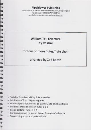 WILLIAM TELL Overture (score & parts)