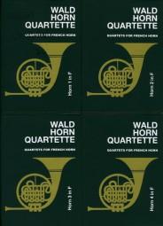 WALDHORN QUARTETTE Book 1