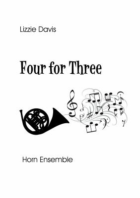 FOUR FOR THREE score & parts