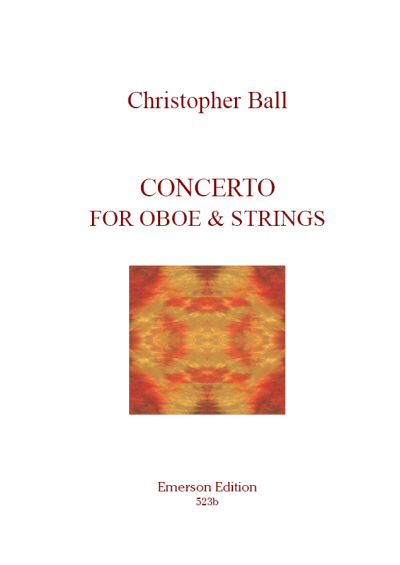 CONCERTO for Oboe & Strings (set of parts)