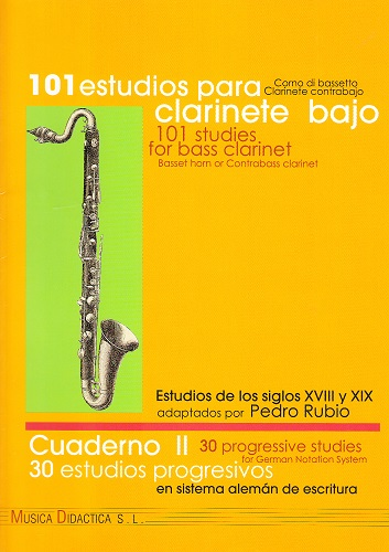 STUDIES FOR BASS CLARINET Volume 2