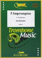 CINQ IMPROMPTUS Op.55