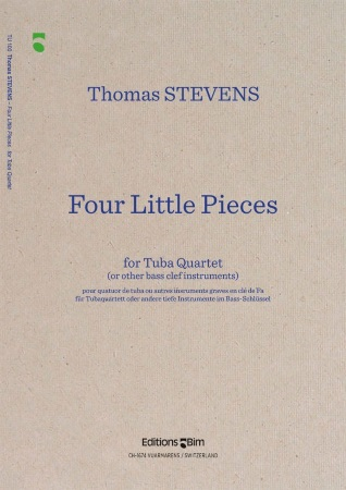 FOUR LITTLE PIECES (score & parts)