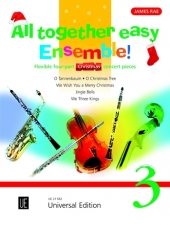 ALL TOGETHER EASY ENSEMBLE Volume 3 Christmas Concert Pieces