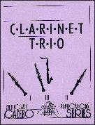 CLARINET TRIO IN THE JAZZ HOUSE (score & parts)
