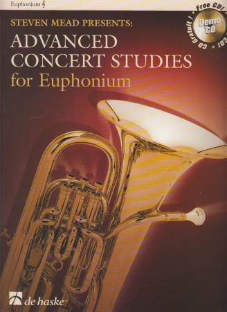 ADVANCED CONCERT STUDIES + CD (treble clef)