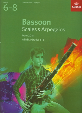BASSOON SCALES & ARPEGGIOS Grade 6-8 (from 2018)
