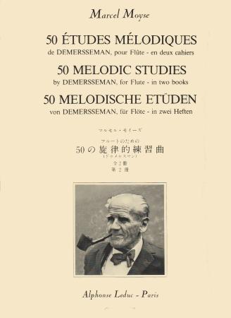50 MELODIC STUDIES by Demerssemann Volume 2
