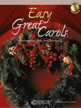 EASY GREAT CAROLS + CD (treble/bass clef)