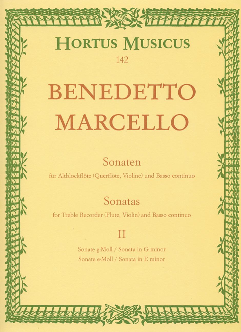 SONATAS Volume 2 Op.2/3 in g minor and Op.2/4 in e minor