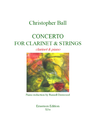 CONCERTO for Clarinet & Strings - String Parts