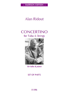 CONCERTINO FOR TUBA set of parts