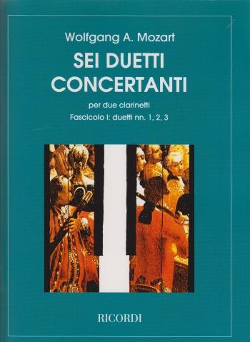 6 DUETTI CONCERTANTE Volume 1