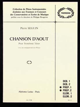 CHANSON D'AOUT