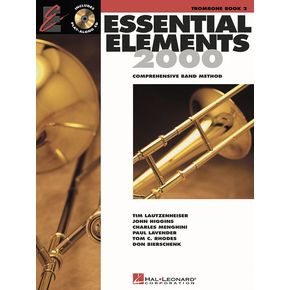 ESSENTIAL ELEMENTS Book 2 + Free Downloads (bass clef)