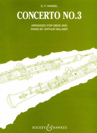 CONCERTO No.3 in G minor, HWV287
