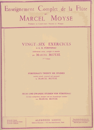 26 EXERCISES Op.107 - Furstenau 1