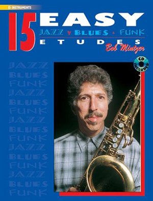 15 EASY JAZZ, BLUES AND FUNK ETUDES + CD