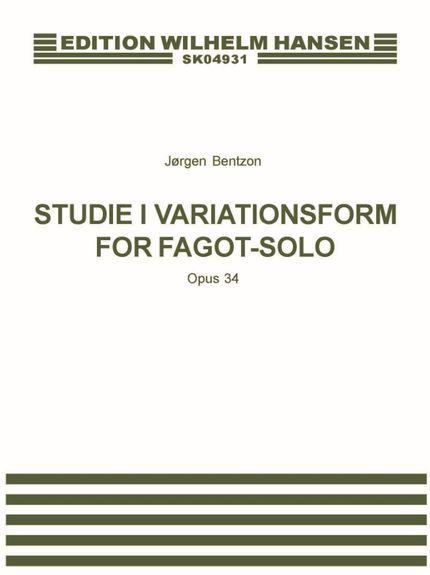 STUDIE I VARIATIONSFORM Op.34